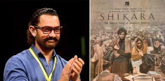 Aamir Khan: 'Shikara' a story that needs to be told