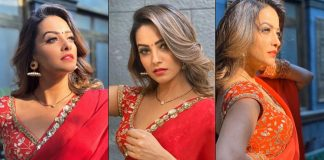 Anita Hassanandani's Red Saree Will Make For A Gorgeous Reception Look This Wedding Season!