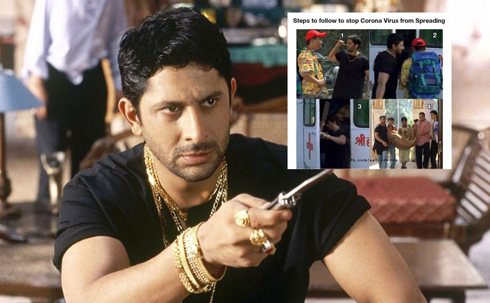 Arshad Warsi Gives A Hilarious 'Munna Bhai' Style Solution To Coronavirus, Receives Backlash For His Insensitivity