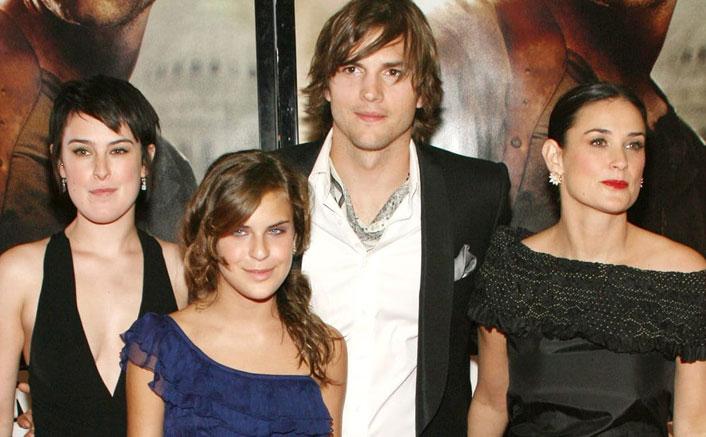 Ashton Kutcher still loves Demi Moore's kids