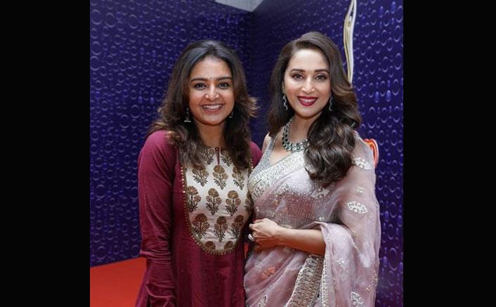 Asuran Actress Manju Warrier Has A Fangirl Moment With 'Dhak Dhak' Girl Madhuri Dixit