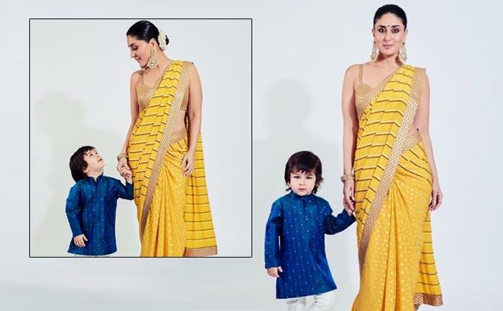 Awwdorable! Taimur Ali Khan Accompanies Mommy Kareena Kapoor Khan's As Her Date For Mamu Armaan Jain's Wedding Function