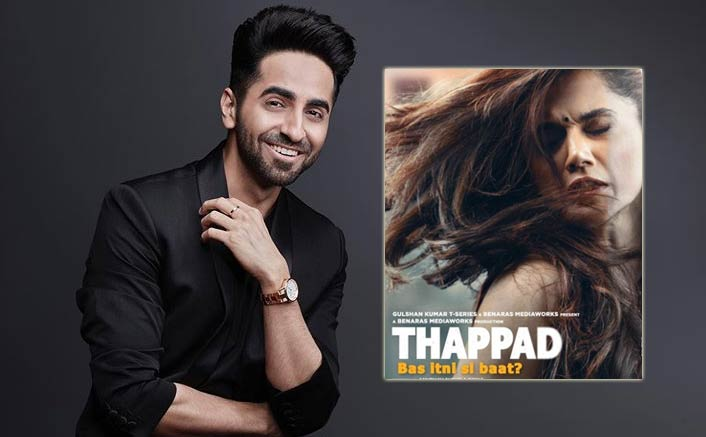 """Ayushmann Khurrana Hails Taapsee Pannu's Thappad, Tags It As The 'Most Important Film Of Our Generation"""""""