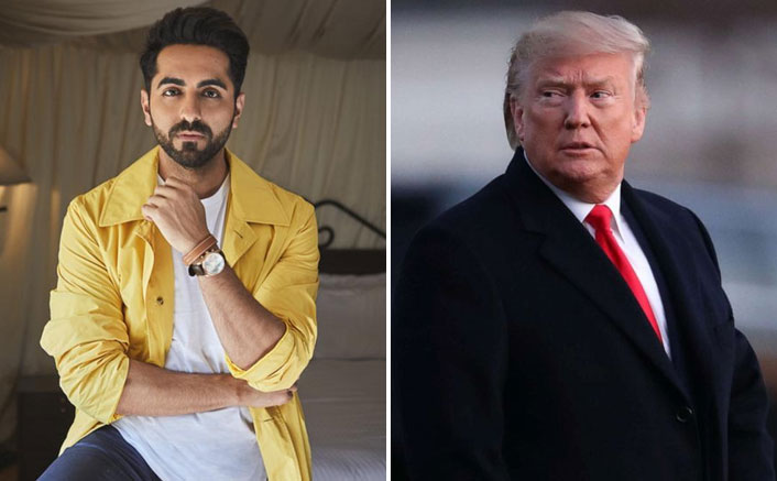 Ayushmann on Trump's tweet: Was great to see his reaction
