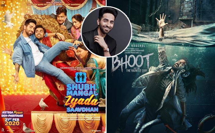 Ayushmann Khurrana Has The Sweetest Take To Shubh Mangal Zyada Saavdhan's Clash With National Award Sharing Actor Vicky Kaushal's Bhoot!