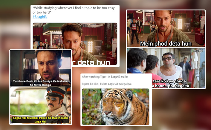 Baaghi 3 Trailer Is The Real Meme Material Right Now & Twitterati Is Hitting It Off The Park