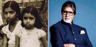 Big B tweets rare childhood pic of Lata and Asha