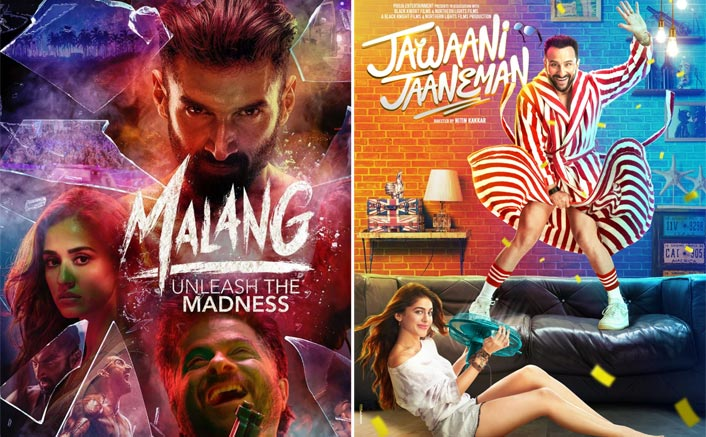Box Office: Malang Has A Decent 2nd Friday, Jawaani Jaaneman Has Some Collections Trickle In