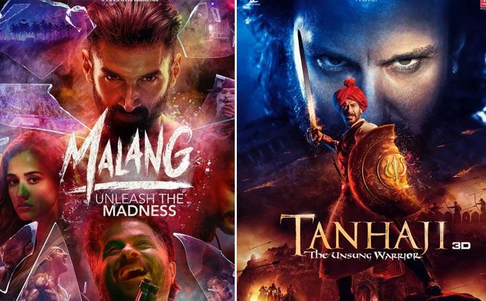 Box Office - Malang is fair on Saturday, Tanhaji - The Unsung Warrior rises again | Feb 16