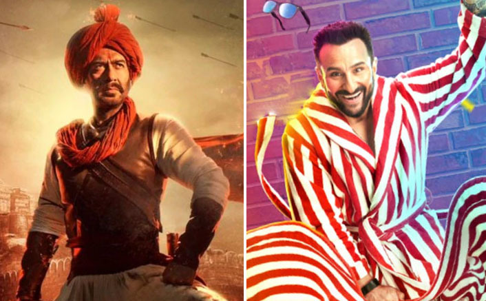 Box Office Updates: Both Tanhaji: The Unsung Warrior & Jawaani Jaaneman Continue To Add Numbers!