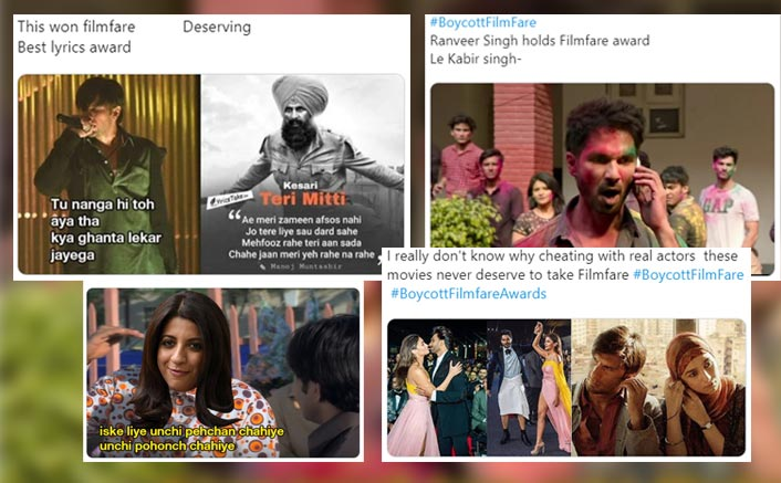 Filmfare Awards 2020: Fans Unhappy With Gully Boy's Massive Win, Question Show's Credibility As They Trend #BoycottFilmfare