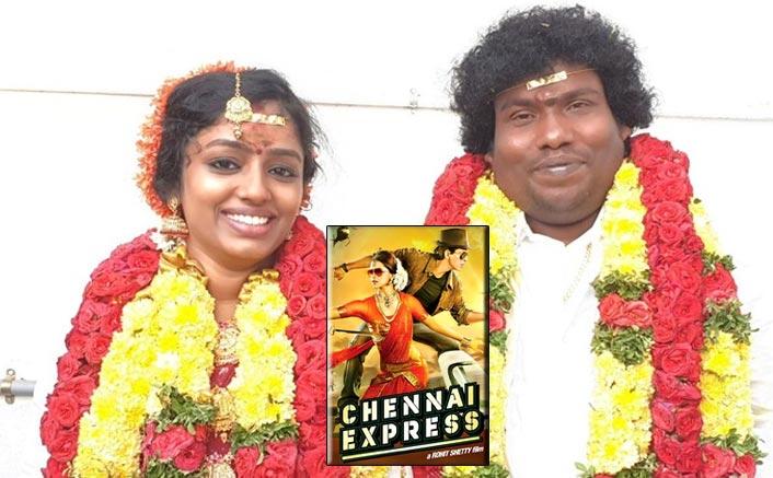 Chennai Express Actor Yogi Babu Ties Knot To Manju Bhargavi At Thiruttani