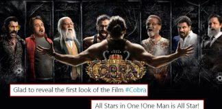 #CobraFirstLookPoster: Chiyaan Vikram's First Poster From The Action Thriller Has Twitterati Going Gaga