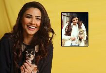 Daisy Shah rescues a puppy in distress