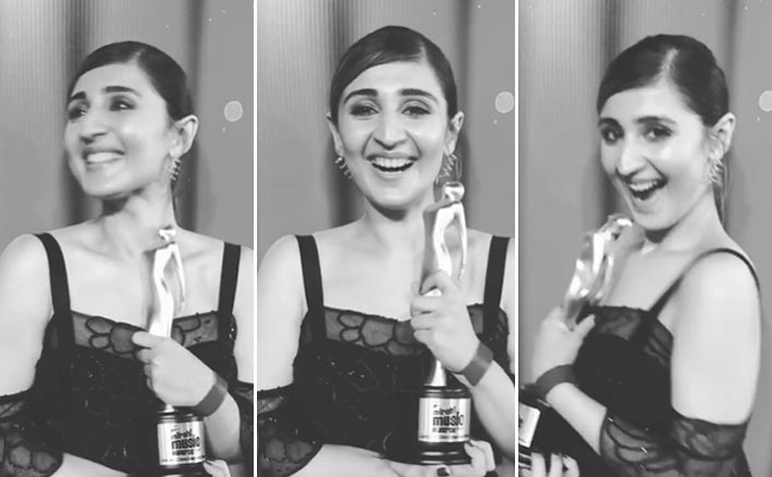 Dhvani Bhanushali Wins Big For Her Single Vaaste At A Prestigious Award Function!
