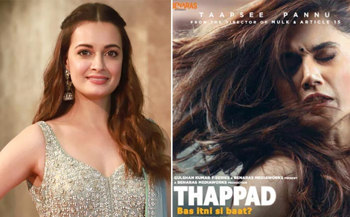 Here's What Inspired Dia Mirza To Do Taapsee Pannu's Thappad