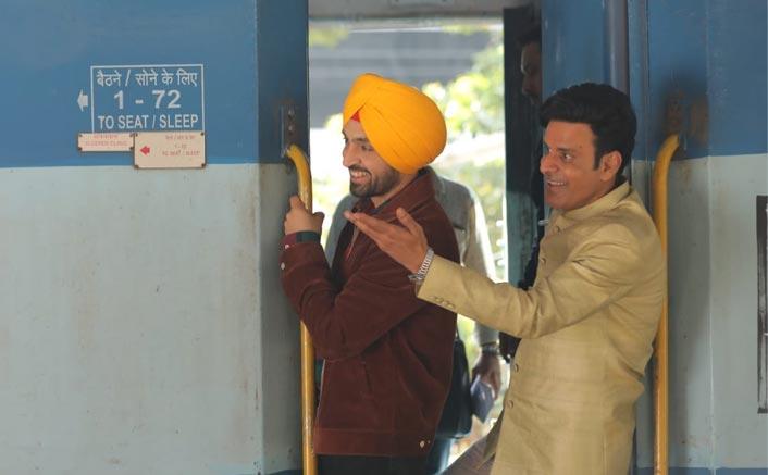 Suraj Pe Mangal Bhari: Diljit Dosanjh & Manoj Bajpayee Shoot At A Crowded Mumbai Railway Platform