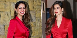 Disha Patani's High Slit Red Dress Is Just The Dress To Surprise Your Bae This Valentine's Day