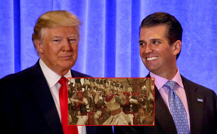 Donald Trump Jr. Celebrates Fathers Victory In Impeachment Case With A Ranveer Singh Connect