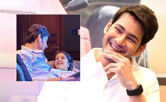 Doting Dad: Mahesh Babu Spends Some Quality Time With Daughter Sitara