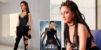 WHOA! Fans Resonate Elli AvRam's Malang Look With Angelina Jolie's Tom Raider