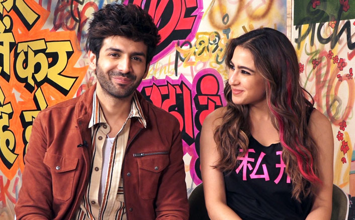 "EXCLUSIVE! Sara Ali Khan & Kartik Aaryan's Fun Banter Leads To The Former Say, ""Tu Apshagun Hai…"""