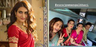 Suraj Pe Mangal Bhari FIRST Look: Fatima Sana Shaikh Makes For A Perfect 'Marathi Mulgi'