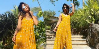 Feeling Summery Already? Opt For Hina Khan Floral Dress For A Summer Picnic