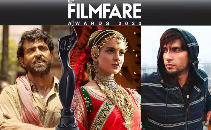 Filmfare Awards 2020: From Kangana Ranaut For Manikarnika To Hrithik Roshan Super 30 – Complete List Of Nominations!
