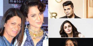 "Filmfare Awards 2020: Rangoli Chandel Calls Out Karan Johar, Alia Bhatt, Ananya Panday yet again, ""Nepotism Ka Nanga Nach Aaj Dekhne Ko Mila"""