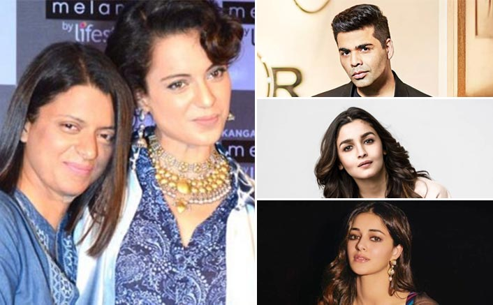Filmfare Awards 2020: Rangoli Chandel Labels Karan Johar, Alia Bhatt, Ananya Panday's Win As 'Nepotism Ka Nanga Nach'