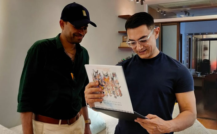 From Lagaan to Laal Singh Chaddha, Aamir Khan's Most Memorable Characters Find Place In A Renowned Cartoonist's Calendar
