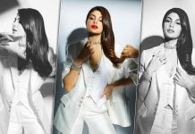 Giving fashion goals and how! Jacqueline Fernandez sporting a vest