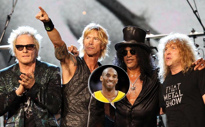 Guns N' Roses Frontman Axl Rose Dedicates Thier Iconic Number Knockin' On Heaven's Door To Kobe Bryant