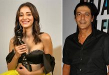 Here's What Chunky Panday Did When Daughter Ananya Panday Gave Him Her Filmfare Trophy
