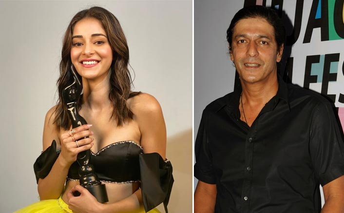 Ananya Panday Reveals What Chunky Panday Did When She Gave Him Her Filmfare Trophy