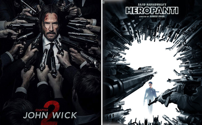 Heropanti 2 Poster COPIED? Netizens Notice Uncanny Resemblance With John Wick 2