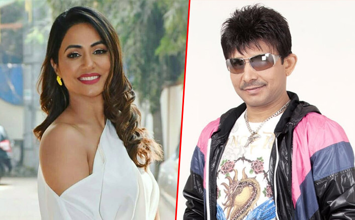 Hina Khan Gives A Befitting Reply To KRK's Dig At Her Upcoming Film Hacked, BF Rocky And Karanvir Bohra Extend Support
