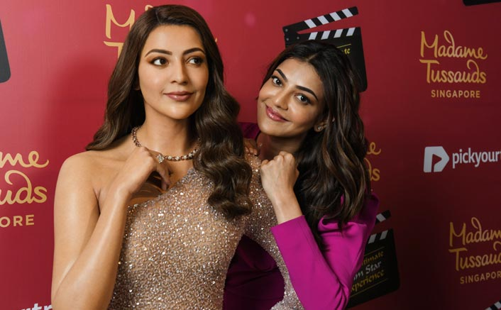 Indian 2 Actress Kajal Aggarwal Unveils Her Wax Statue At Madame Tussauds Museum In Singapore; Fans Flood Social Media With Congratulatory Messages