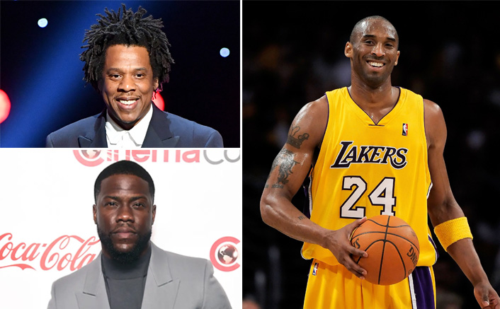 Jay-Z, Kevin Hart & Others Sport Lakers' Jerseys With Kobe Bryant's Number 24 To Honour Him