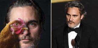 Joaquin Phoenix reminds 'We're All Animals' in PETA ad