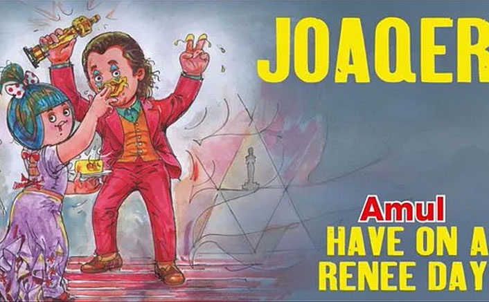 'Joker' tribute to Joaquin Phoenix by Amul faces PETA ire