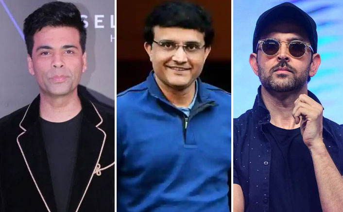 Karan Johar To Collaborate With Sourav Ganguly For A Film On His Life, Hrithik Roshan Could Play The Lead?
