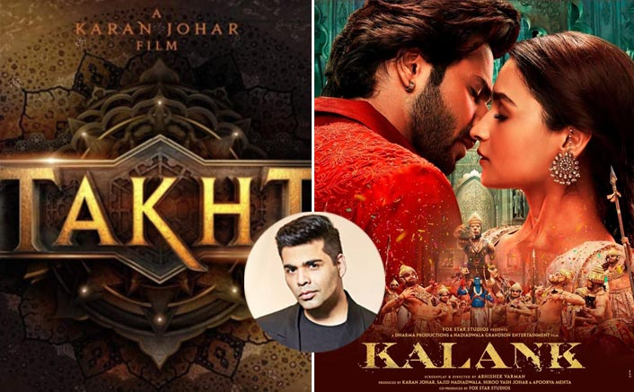 Ahead Of Takht, Karan Johar Yet Again Opens Up About Kalank Failure & Is Taking Full Responsibility!
