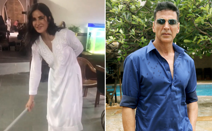 Sooryavanshi: This Is What Akshay Kumar Did When Katrina Kaif Swept The Floor On The Sets