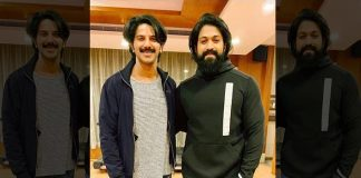 KGF's Yash & Kurup Actor Dulquer Salmaan Pose For A Pic & We Want Someone To Cast Them Together In A Film Already!