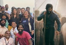 KGF2: Raveena Tandon Has Gala Time Post Wrap Up Of Yash Starrer In Hyderabad