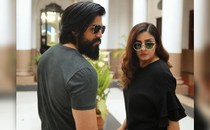 KGF 2: Raveena Tandon Shares An Intriguing Boomerang With Superstar Yash From The Sets