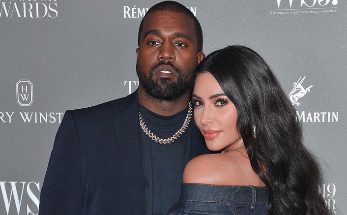 Kim Kardashian & Kanye West On A Break Amid Lockdown, Living Separately?