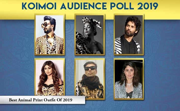 Koimoi Audience Poll 2019: From Shahid Kapoor To Kareena Kapoor Khan, Vote For Your Favourite Animal Print Look
